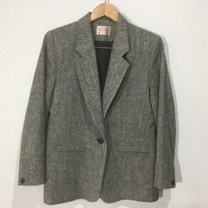(EC) Pendleton classic Oxford wool Blazer/jacket
